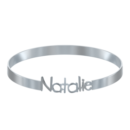 Cut Out Name Bangle
