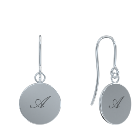 Dangle Coin Earrings