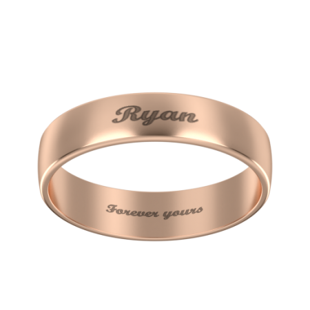 Personalized Name Band Ring