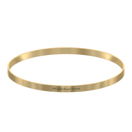 Classic Name Bangle