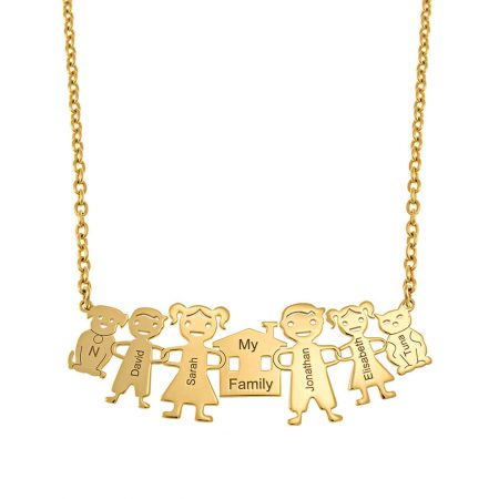 My Family Necklace