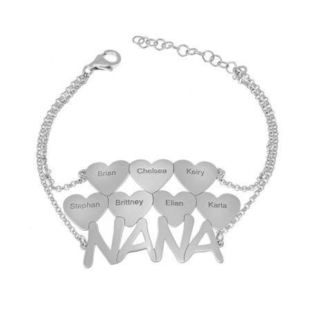 Nana Bracelet with Hearts