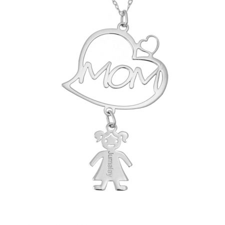 Mother's Heart Necklace